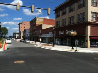 Downtown Rocky Mount NC revitalization 2012. Photo: Frank Whatley