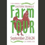 Eastern Triangle Farm Tour 2017 poster. Source: Carolina Farm Stewardship Association