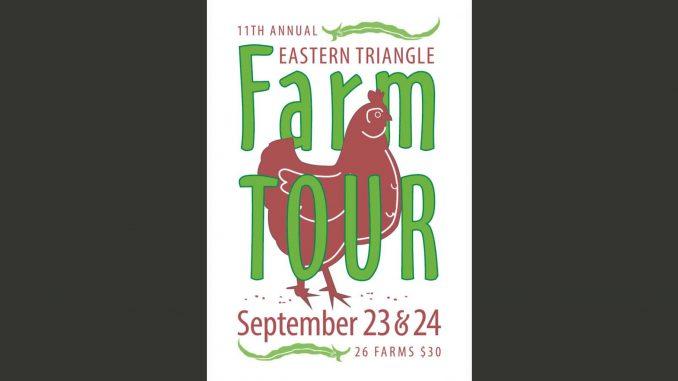 Eastern Triangle Farm Tour 2017 poster. Source: Carolina Farm Stewardship Association