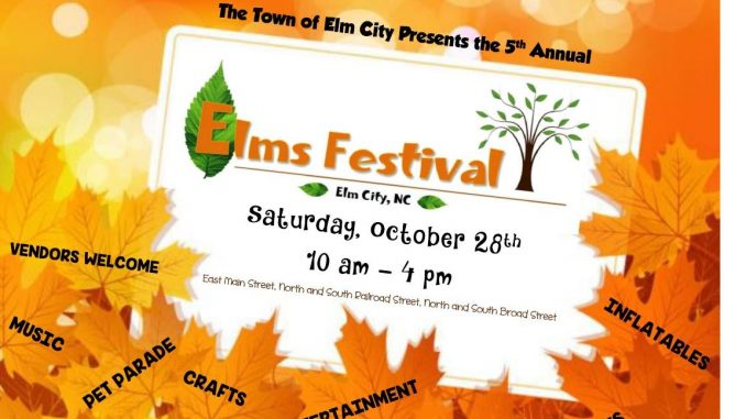 Elms Festival poster. Source: Town of Elm City