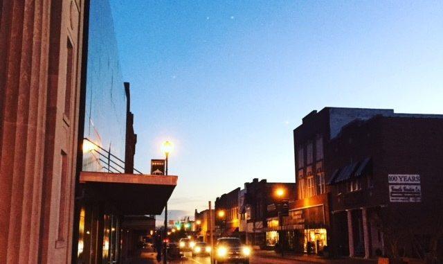 Downtown Farmville, North Carolina. Source: The Farmville Group