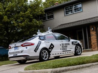 Domino's Pizza and Ford Motor Co. are launching an industry-first collaboration to understand the role that self-driving vehicles can play in pizza delivery. Source: Ford