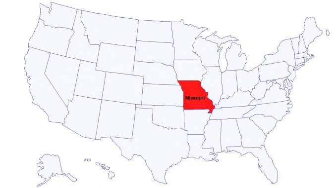 NAACP Issues Travel Advisory For The State Of Missouri The Grey - Us map missouri