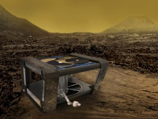 AREE is a clockwork rover inspired by mechanical computers. Credit: NASA/JPL-Caltech