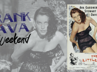Frank and Ava Weekend flyer. Source: Ava Gardner Museum, Smithfield NC.