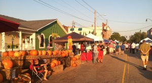 Vendors at the Wendell Harvest Festival. Photo: Kay Whatley, 2013