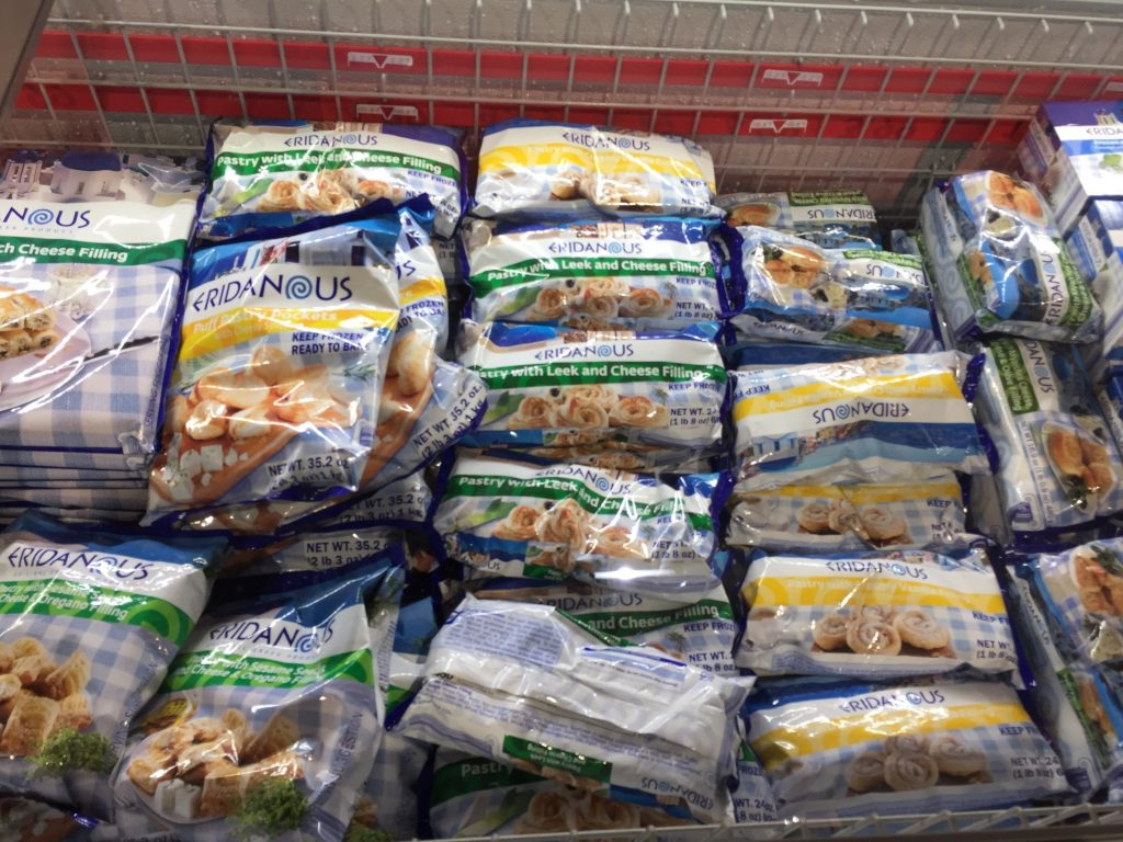 A variety of Greek, Indian, and international foods spotted in Lidl Wilson NC. Photo: Kay Whatley