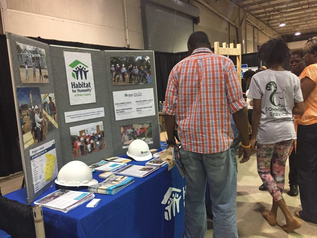 Habitat for Humanity booth at the Raleigh Greek Festival 2017. Photo: Kay Whatley