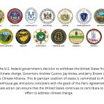 The United States Climate Alliance now includes North Carolina. Source: USCA