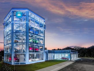 Raleigh Car Vending Machine. Source: Carvana