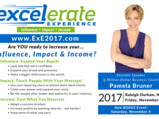 Excelerate Experience 2017 postcard
