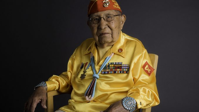 Navajo Nation Code Talker David Patterson, Sr. Source: The Navajo Nation Office of the President and VP.