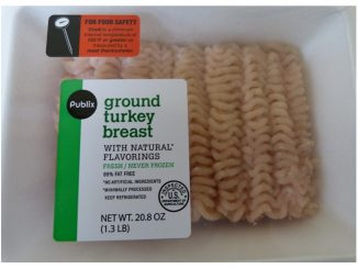 Packaging, one of several recalled, by Prestage Foods. Source: USDA Food Safety and Inspection Service