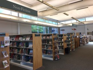 Interior of East Regional Library, Knightdale NC, in November 2017. Photo: Kay Whatley