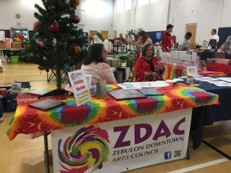 Holiday Market 2017 vendors, Zebulon NC. Photo: Kay Whatley