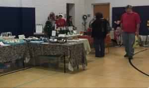 Holiday Market 2017 vendors, Zebulon NC. Photo: Kay Whatley