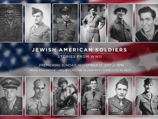 Full Scale Productions Jewish American Soldiers film Invitation. Source: PRNewsfoto/Full Scale Productions