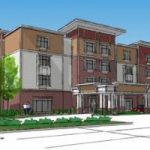Rendering of the new Hampton Inn & Suites by Hilton Knightdale Raleigh. Source: Crown Hotel and Travel Management