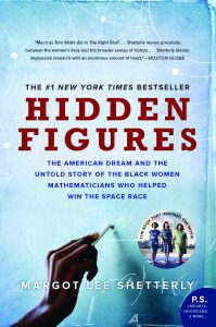 Hidden Figures book cover