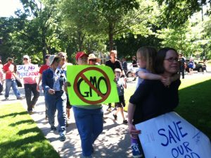 March Against Monsanto on May 25, 2013 in Raleigh NC. Photo: Kay Whatley