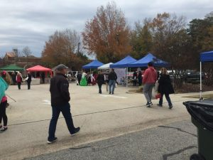 Pop-up Vendor Market lot. Photo: Kay Whatley