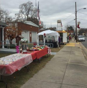 Christmas Bazaar in Bailey NC on December 2, 2017. Photo: Kay Whatley