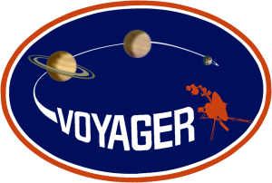 NASA Mission Badge for Voyager. Source: NASA/JPL