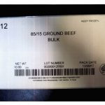 One of the PFP Enterprises LLC recalled products: beef found to contain soy. Source: USDA Food Safety and Inspection Service
