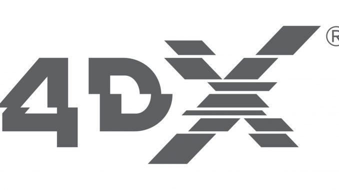 Regal Entertainment Group-4DX logo. Source: PRNewsfoto/Regal Entertainment Group