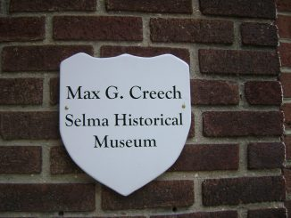 Source: The Max G. Creech Selma Historical Museum, Selma, North Carolina.
