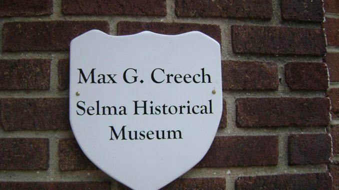 Source: The Max G. Creech Selma Historical Museum, Selma, North Carolina.