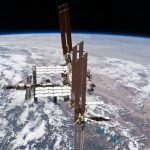 This picture of the International Space Station was photographed from the space shuttle Atlantis. Source: NASA