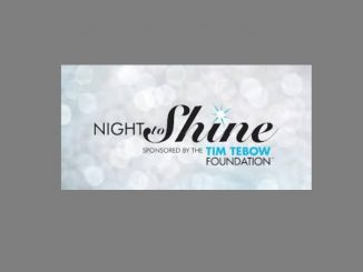 Night to Shine logo. Source: The Tim Tebow Foundation