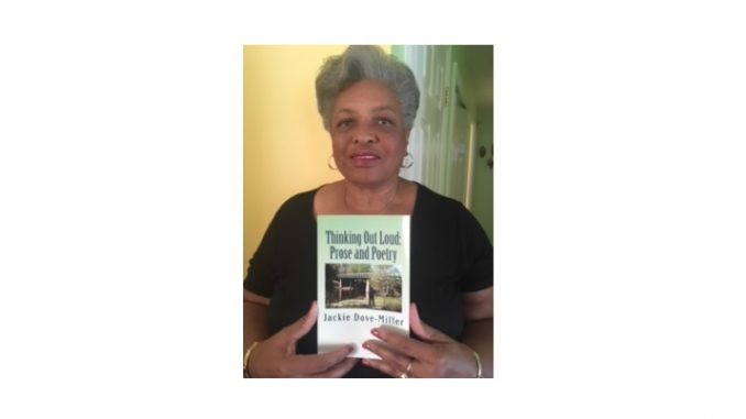 NC Author with her new book, Thinking Out Loud. Source: Donna Campbell Smith