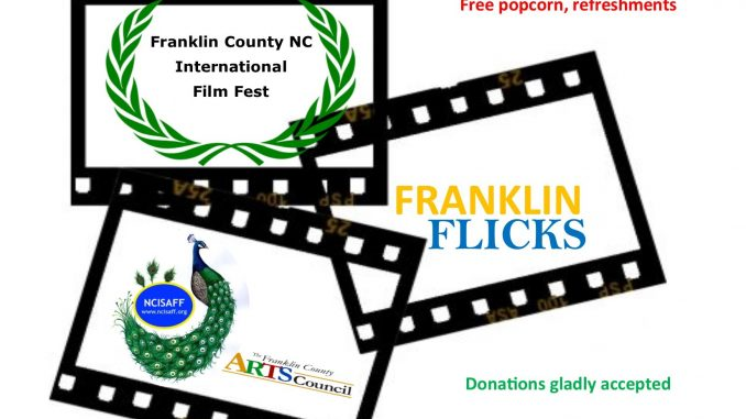 Franklin Flicks 2018 film festival, Louisburg NC