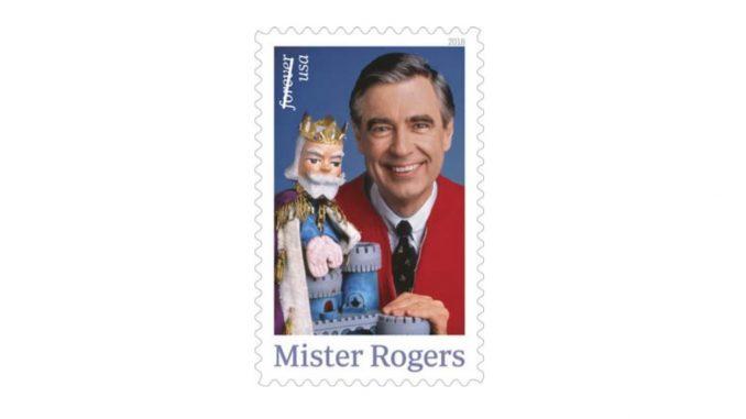 Mister Rogers Forever Stamp. Source: USPS