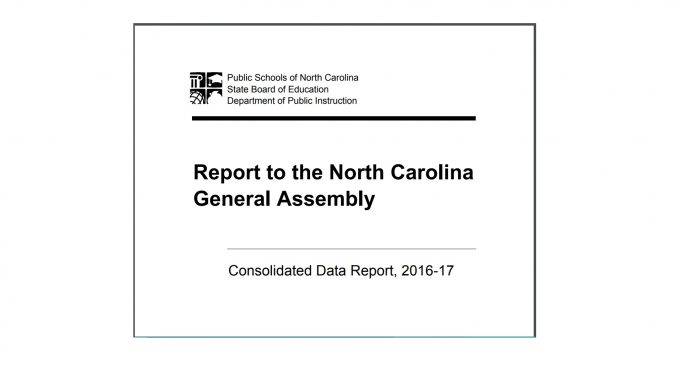 NC Public Schools report released for 2016-17.