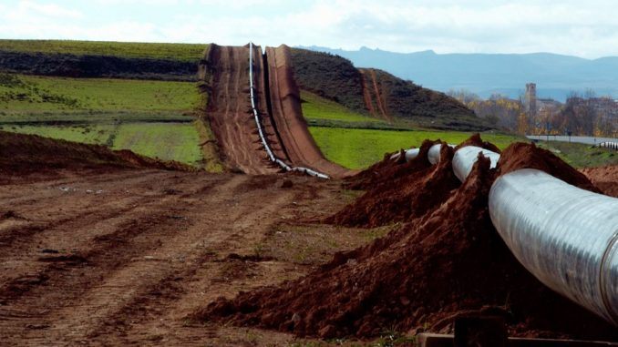 Pipeline build. Source: Southern Environmental Law Center