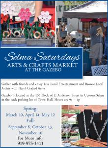 Selma Saturday 2018 flyer