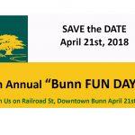 Bunn Fun Day returns on April 21, 2018.