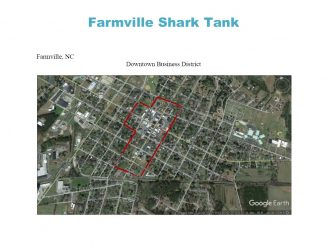 Farmville, North Carolina Downtown Business District. Source: The Farmville Group