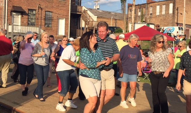 Dancing at Whirligig Park in 2017. Source: Susan Kellum, City of Wilson NC