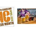 NC Beer Month is April. Source: Source: Visit North Carolina