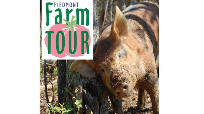 Piedmont Farm Tour. Source: Carolina Farm Stewardship Association, Pittsboro NC.