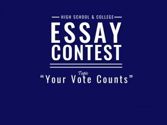 "Essay Contest theme ""Your Vote Counts"". Source: Rockin' Democracy in Brunswick County, North Carolina"