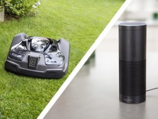 Husqvarna's robotic mower, Automower, features Amazon Alexa integration, starting September 1, 2018. Source: PRNewsfoto/Husqvarna