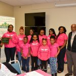 Volunteer of the Year - Edgecombe Co. Michael's Angels Girls Club. Photo: Robin Cox, City of Rocky Mount NC