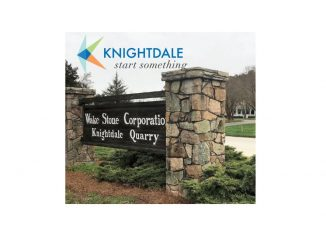 Wake Stone Corporation sign. Source: Town of Knightdale, North Carolina