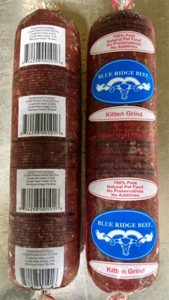A Blue Ridge Beef packaging image released with recall. Source: US FDA