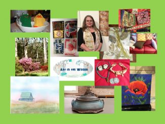 Art in the Woods is May 6, 2018 in Franklin County NC. Source: Donna Campbell Smith